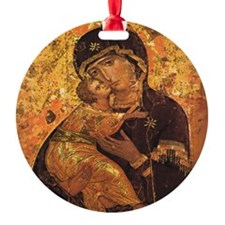 MOTHER OF PERFETUAL HELP Ornament (Round)