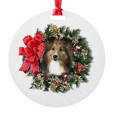 Sheltie Keepsake/Ornament (Round)