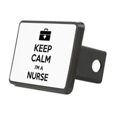 Keep calm I'm a nurse Hitch Cover