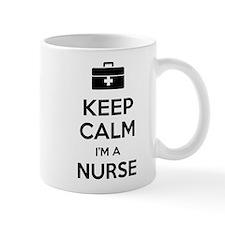 Keep calm I'm a nurse Small Mug