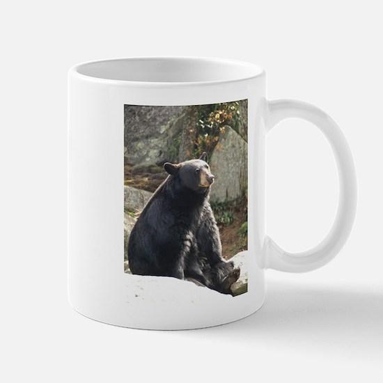Black Bear Sitting Mug