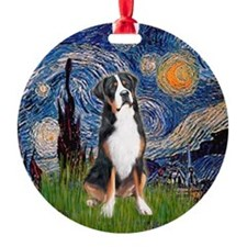 Starry Night GSMD Ornament (Round)