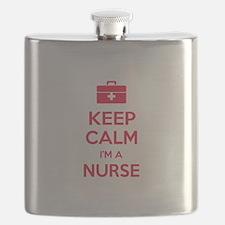 Keep calm I'm a nurse Flask