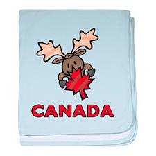 Canada baby blanket