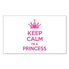 Keep calm I'm a princess Decal