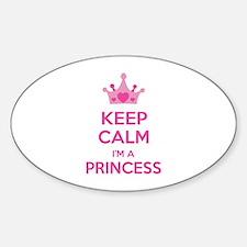 Keep calm I'm a princess Decal