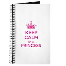 Keep calm I'm a princess Journal