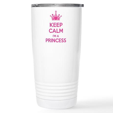 Keep calm I'm a princess Stainless Steel Travel Mu