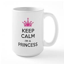 Keep calm I'm a princess Mug