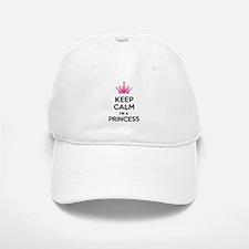 Keep calm I'm a princess Baseball Baseball Cap