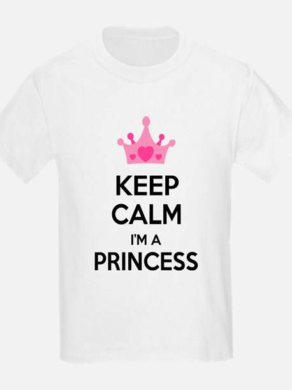 Keep calm I'm a princess T-Shirt
