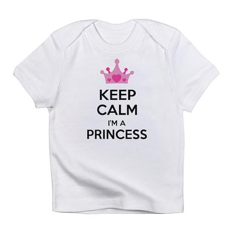 Keep calm I'm a princess Infant T-Shirt