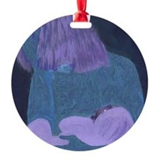 Art Work Ornament (Round)