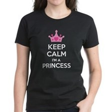 Keep calm I'm a princess Tee