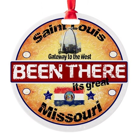 St Louis Store Ornament (Round)