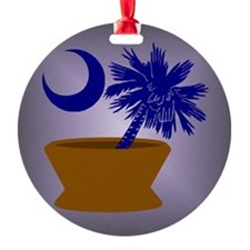 South Carolina Pharmacy Ornament (Round)
