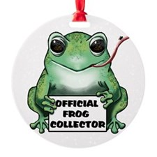 Chuck's Frog Ornament (Round)