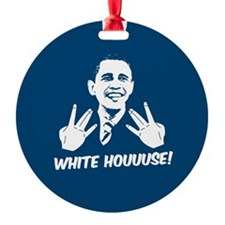 White Houuuse! Christmas Tree Ornament