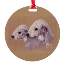 Bedlingtons-Double Trouble Ornament (Round)
