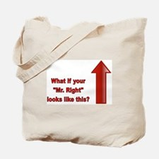 Cute Mr right Tote Bag