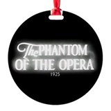 Phantom of the opera photo album Round Ornament