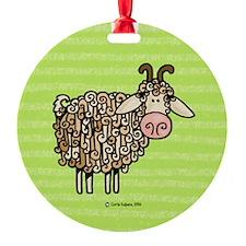 Goat II Ornament (Round)