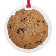 Chocolate Chip Cookie Ornament (Round)
