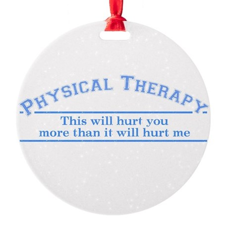 Hurt Ornament (Round)