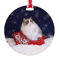 Ragdoll Cats Ornament (Round)