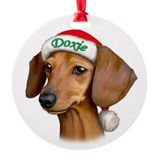 Doxie! Ornament (Round)
