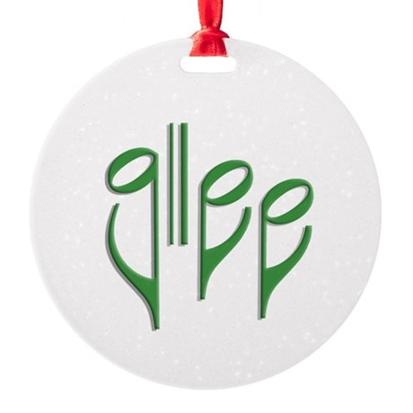 glee Ornament (Round)