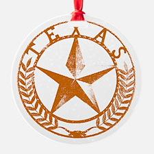 Texas Star Ornament (Round)