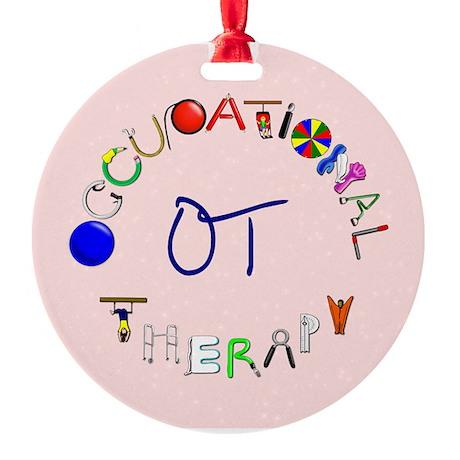 OT at work Ornament (Round)
