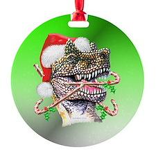 Dino Ornament (Round)