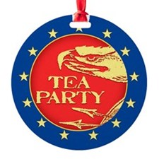 Tea Party 2 Ornament (Round)