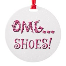 OMG Shoes 2.0 Ornament (Round)