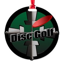 Disc Golf Site Ornament (Round)