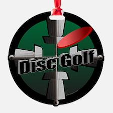 Disc Golf Site Ornament (Round)