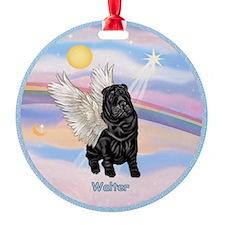 Angel Sharp Pei Walter CUSTOM Ornament (Round)