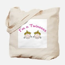 I'm a Twincess Tote Bag
