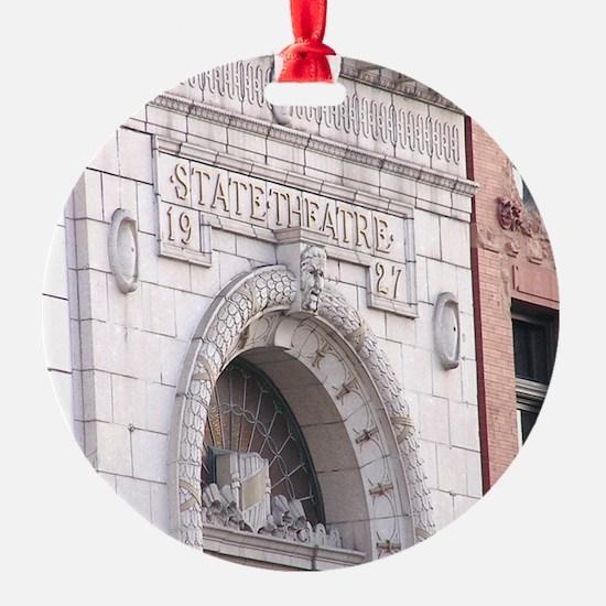 State Theatre Ornament (Round)