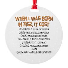 Price Check 1952 Ornament (Round)
