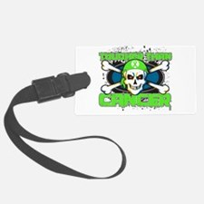 Lymphoma Tougher Than Cancer Skull.png Luggage Tag