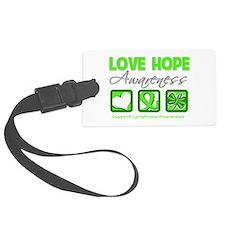 Love Hope Awareness Lymphoma.png Luggage Tag