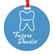 Future Dentist Ornament (Round)