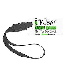 IWearLimeGreen Lymphoma Luggage Tag