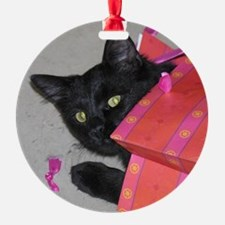 Ready for Christmas Ornament (Round)