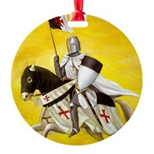 Mounted Templar Ornament (Round)