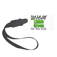 iwearlimegreen11wife.png Luggage Tag