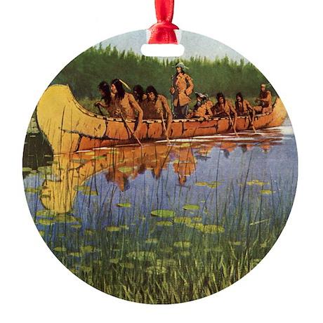 Remington Great Explorers Ornament (Round)